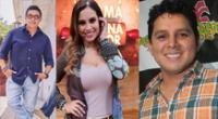 Figuras de la televisión envían saludo a  El Popular por su aniversario.