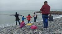 Asisten a playa pese a estado de emergencia por coronavirus. Foto referencial.