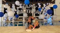 Marc Anthony celebró cumpleaños junto a Maluma.