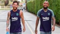 Messi le deseó lo mejor a Vidal