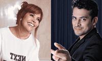 """Christian Domínguez a Magaly Medina: """"Nunca pensé en volver a sentarme en tu set"""""""