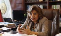 Zoraida Ávalos niega haya complotado con el gobierno para atacar con denuncias a los congresistas Edgar Alarcón y Omar Chehade.