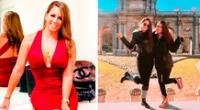 Melissa Klug reveló fotos inéditas de cuando se convirtió en mamá.