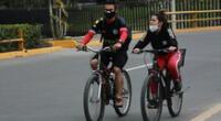 """""""Las bicicletas no están prohibidas para circular los días domingos"""", aclara funcionario del MTC."""