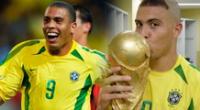 Ronaldo fue la figura del Mundial 2002.