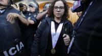 Fiscal Rocío Sánchez reveló recibir presiones y evalúa su renuncia al caso.