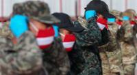 Ministerio de Defensa recomienda usar el saludo militar para evitar contagios de la COVID-19.