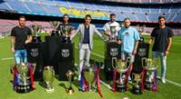 Luis Suárez dejó una huella importante en Barcelona | Foto: @FCBarcelona
