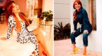 Magaly Medina impacta con espectacular look.
