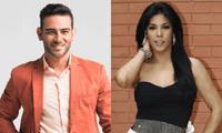 Diego Val reveló que compartió una cena con Karen Dejo, y que actualmente ambos están en proceso de conocerse.