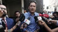 Daniel Salaverry se inscribió a Somos Perú para postular a la Presidencia de la República.