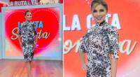 Karina Rivera se despide de su programa de Latina TV.
