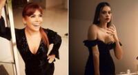 Magaly Medina y Jossmery Toledo coincidieron con un look sexy que atrajo miradas en la televisión nacional.