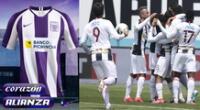 Conoce los detalles de la camiseta que lucirá Alianza Lima en octubre.