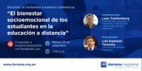 Derrama Magisterial ofrecerá conversatorio virtual gratuito hoy 29 de setiembre.
