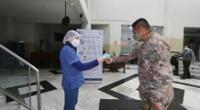 Fuero Militar Policial firme en su lucha contra Covid-19