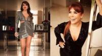 Magaly Medina toma de la mejor manera las críticas a sus bailes.