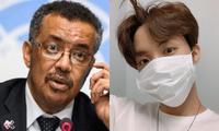 Tedros Adhanom Ghebreyesus aplaudió a J-Hope de BTS por recordarle a su Army cómo prevenir el contagio de coronavirus en plena pandemia.