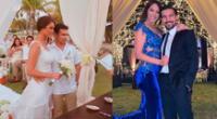 Karen Schwarz recuerda matrimonio simbólico con Ezio Oliva en Instagram