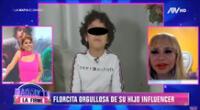 Florcita Polo y Susy Díaz orgullosas.
