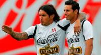 Vargas y Pizarro compartieron muchos años en la selección.