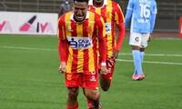 Axel Sánchez celebra rabiar su gol de la victoria ante Cristal.