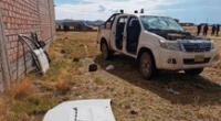 asesinan a joven ingeniero y desmantelan su moderna camioneta
