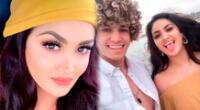 Michelle Soifer se mostró en redes sociales con su novio Giuseppe Benignini mientras ambos jugaban con su pequeña mascota.