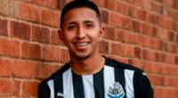 Rodrigo Vilca al Newcastle de Inglaterra.