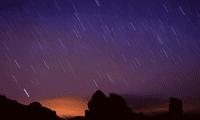 La lluvia de estrellas será más visible del 7 al 8 de octubre, según  Agencia Estatal de Meteorología (AEMET).