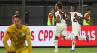 Gol peruano a cargo de André Carillo.