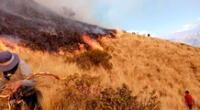 Según Indeci, el fuego ya se encuentra controlado.