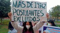 Estudiantes y postulantes exigen la anulación del Examen de Admisión 2020-II virtual de la UNMSM.