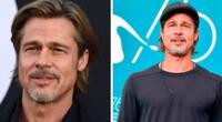 Brad Pitt debuta en el mundo del modelaje.