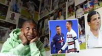 Kylian Mbappé y Cristiano Ronaldo protagonizaron un curioso momento.