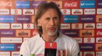 Ricardo Gareca se refirió a Gianluca Lapadula