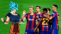 ex jugador del Barcelona se cambió el nombre y se pone Goku