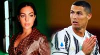 Georgina envía fuerzas a Cristiano Ronaldo.