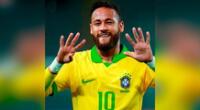Neymar anota el segundo gol ante Perú
