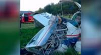 Avioneta se cae y un bebé es el único sobreviviente
