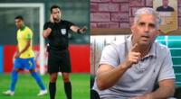 Árbitro Julio Bascuñán sigue siendo noticia tras el Perú vs. Brasil por Eliminatorias.