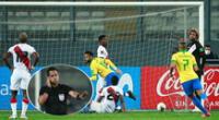 El Perú vs. Brasil dirigido por el árbitro Julio Bascuñán dio la vuelta al mundo.