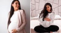 Samahara Lobatón y su emotiva foto tras ser madre por primera vez