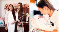Melissa Klug se encuentra emocionada con la llegada de su primera nieta.