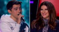 Laura Pausina sorprendida con talento peruano.