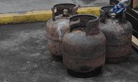 Los balones de gas encontrado se encontraban valorizados en S/ 8 000.