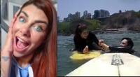 Xoana González sorprendió a Javier y le pide matrimonio en medio del mar