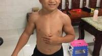 Niño de 10 años tiene el cuerpo de un fisicoculturista