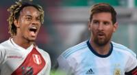 Perú y Argentina se ven las caras en la fecha 4 de las Eliminatorias.