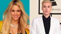 Shakira se declara fan de Justin Bieber.